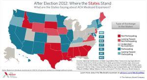 Medicaid map 1-15-13